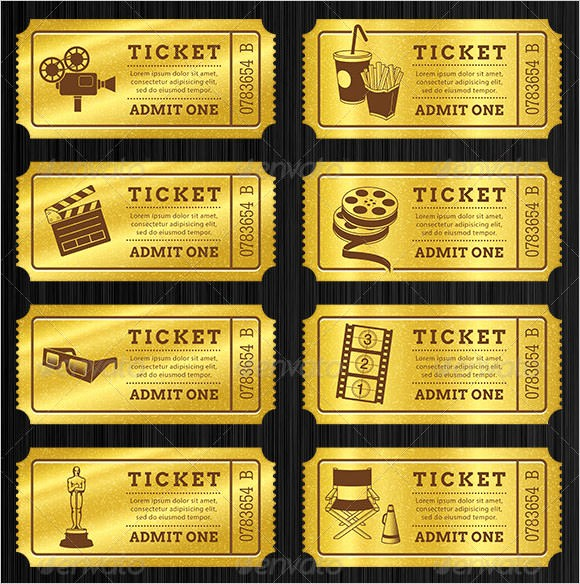 Admit One Ticket Template Word Beautiful 36 Editable Blank Ticket Template Examples for event Thogati