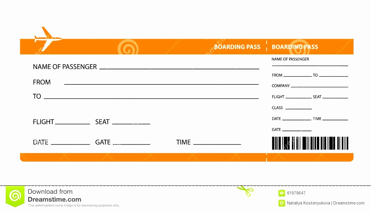 Admit One Ticket Template Word Fresh Airline Ticket Invitation Example Mughals