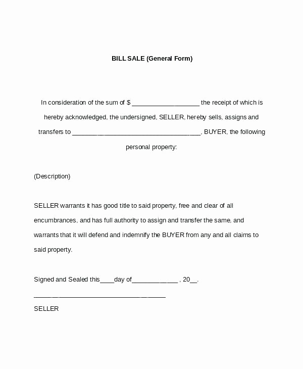 Auto Bill Of Sale Massachusetts New Bill Sale Template Ma Fresh for Car and Free form