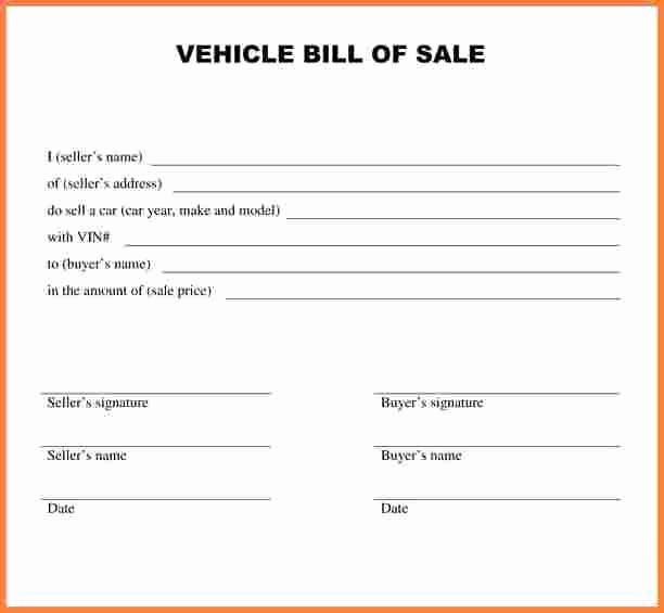 Auto Bill Of Sale Massachusetts New Car Bill Sale Ma Free Download 20 High School