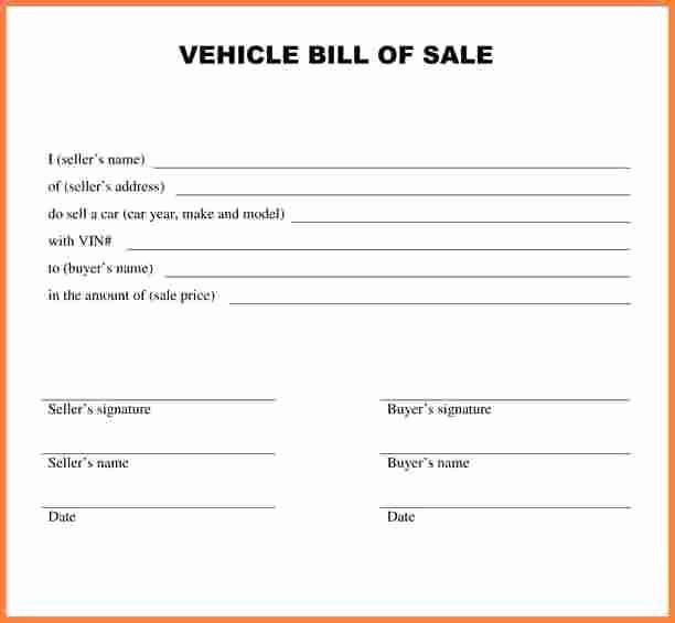 Auto Bill Of Sale Massachusetts New Car Bill Sale Ma Free Download 20 High School