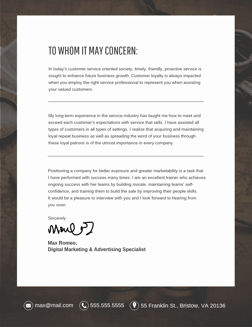 Cover Letter with Picture Template Unique 10 Cover Letter Templates and Expert Design Tips to