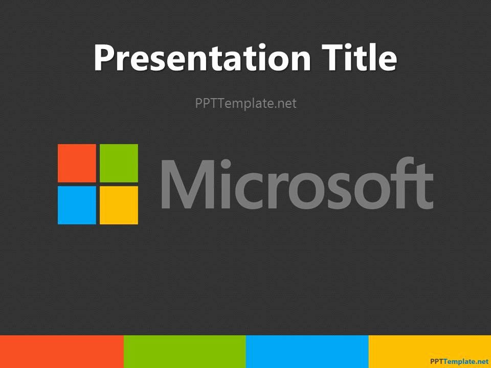 Microsoft Powerpoint themes Free Downloads Awesome Free Microsoft Ppt Template