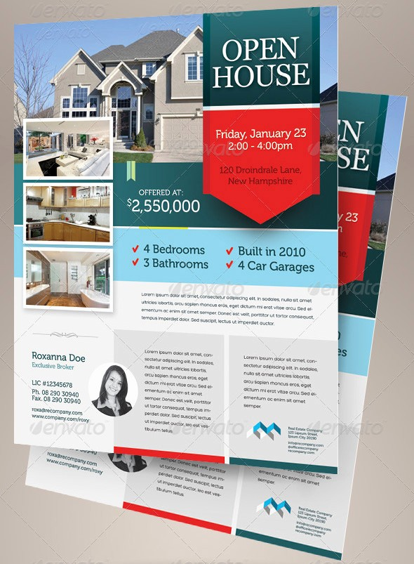 Open House Flyer Templates Free Beautiful Open House Flyer Templates – 39 Free Psd format Download