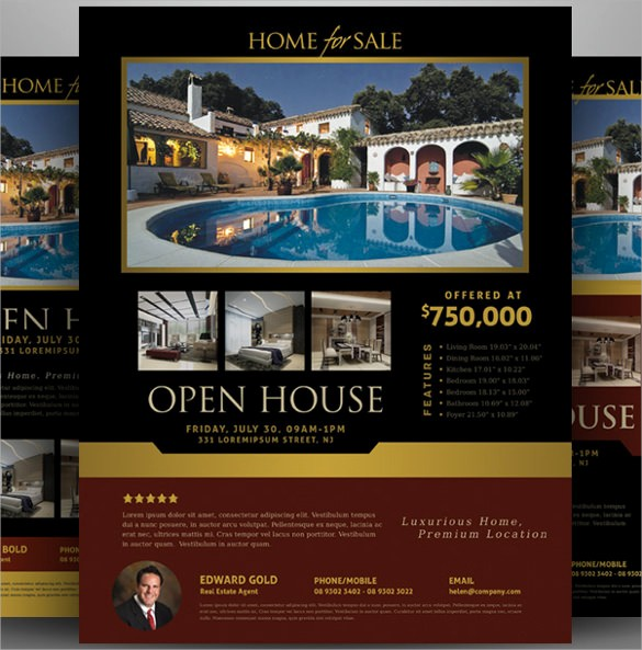 Open House Flyer Templates Free Best Of 19 Open House Flyers