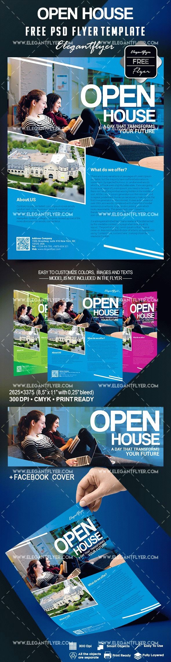 Open House Flyer Templates Free Elegant Open House Flyer Template Free – by Elegantflyer