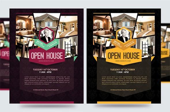 Open House Flyer Templates Free Elegant Open House Flyer Templates – 39 Free Psd format Download