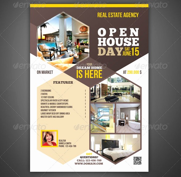 Open House Flyer Templates Free Lovely Open House Flyer Templates – 39 Free Psd format Download