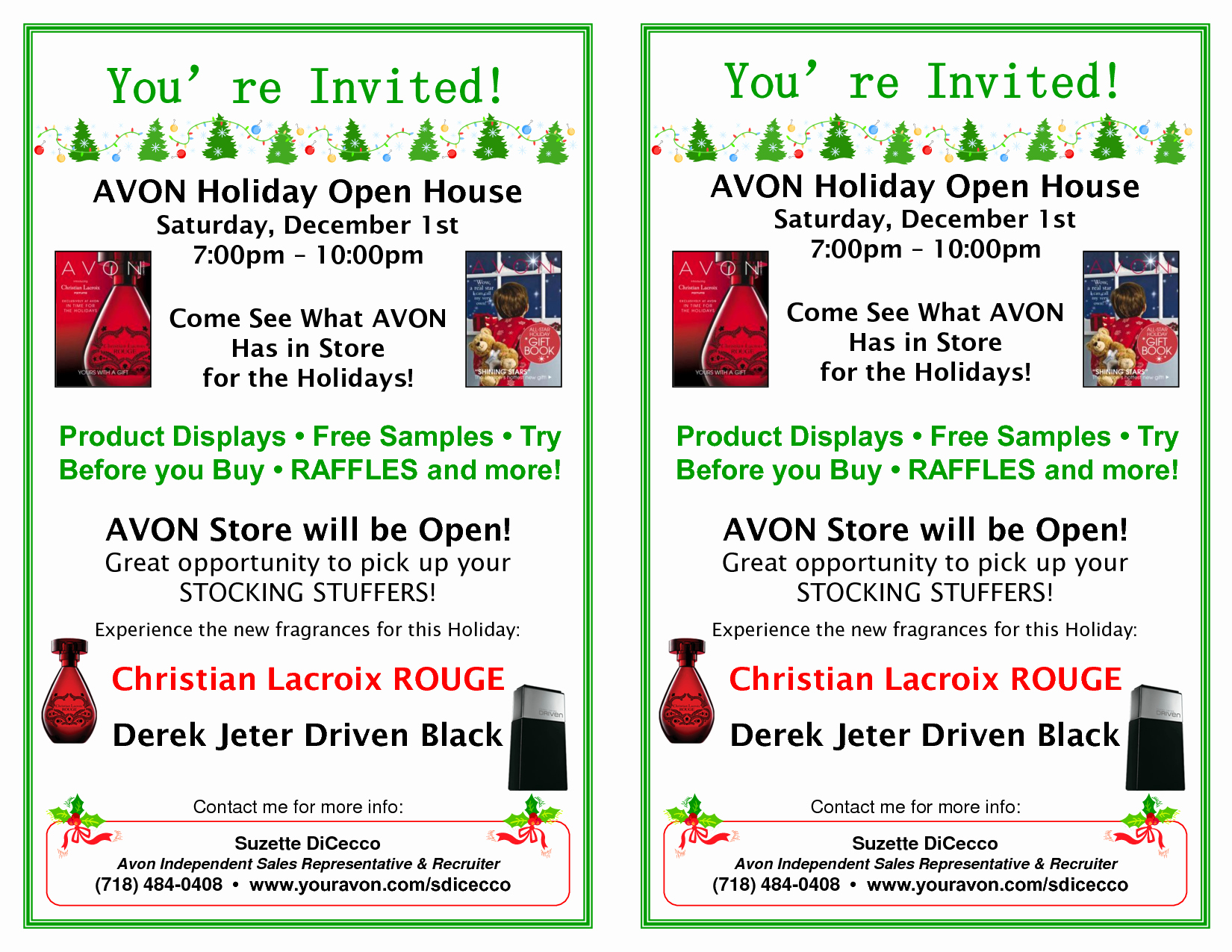 Open House Flyer Templates Free Luxury 8 Best Of Avon Flyer Template Ideas Avon Flyer