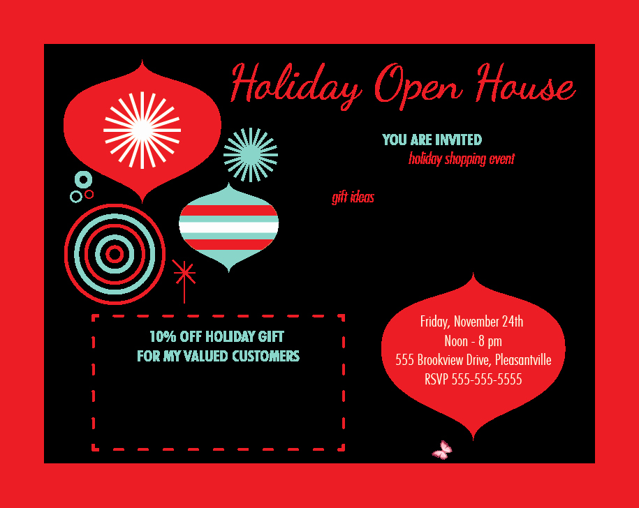 Open House Flyer Templates Free Luxury House Party Invitation Template