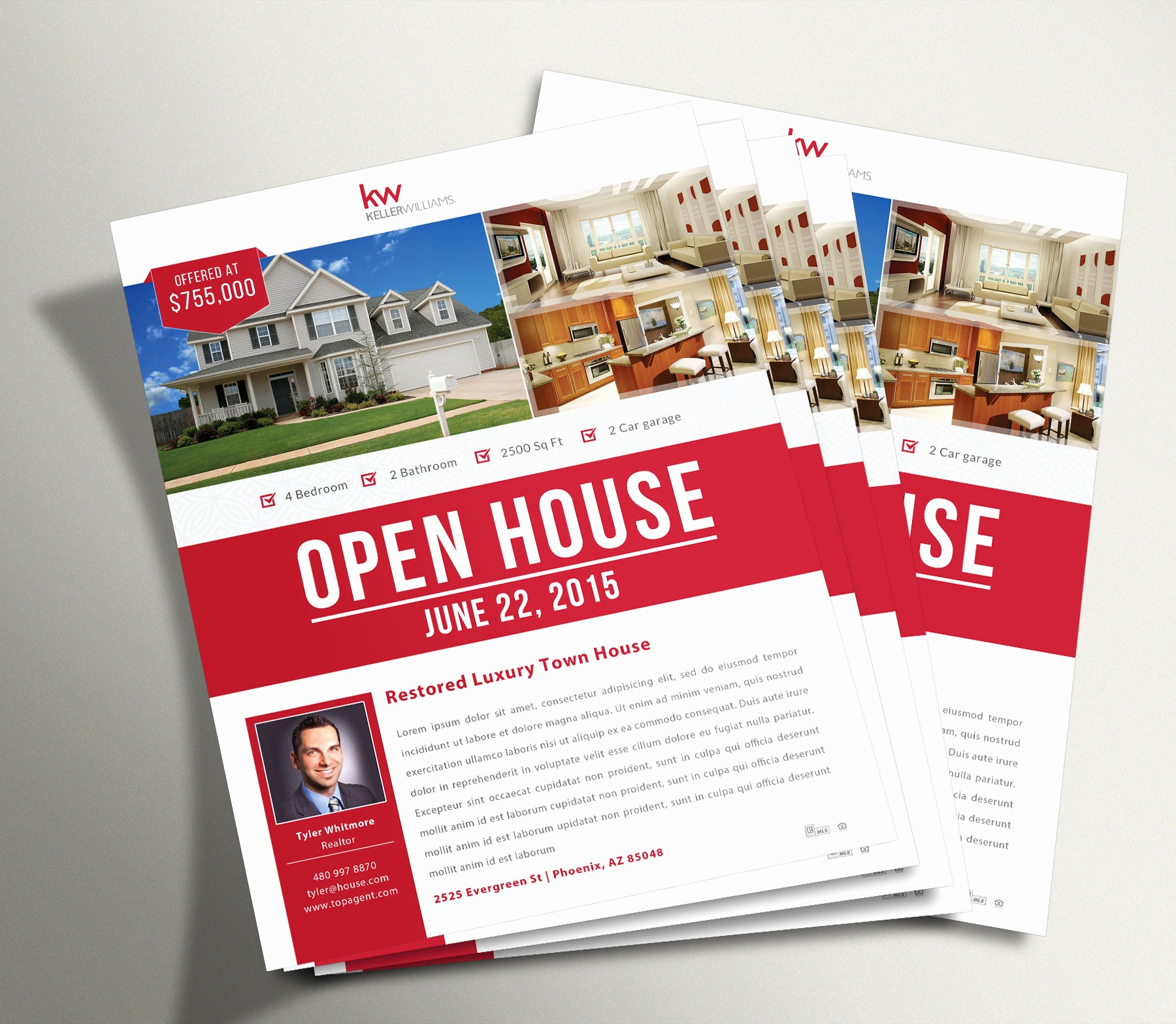 Open House Flyer Templates Free New Open House Flyer 1