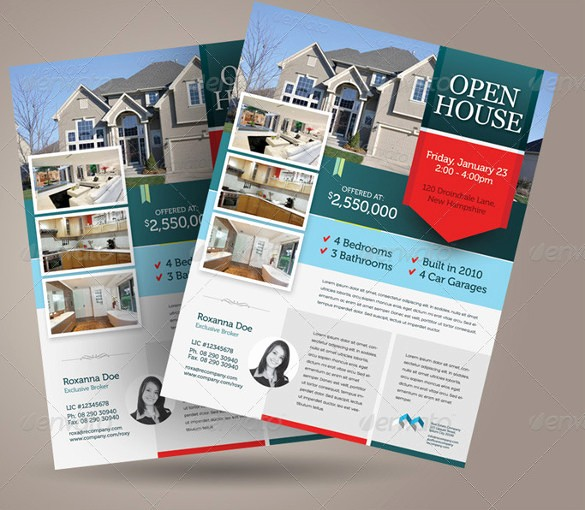 Open House Flyer Templates Free New Open House Flyer Templates – 39 Free Psd format Download