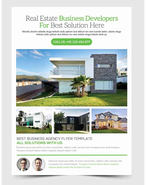 Open House Flyer Templates Free Unique 30 Amazing Free Real Estate Flyer Templates Psd Download