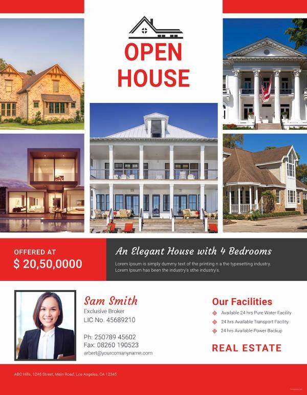 Open House Flyer Templates Free Unique Open House Flyer Templates – 39 Free Psd format Download