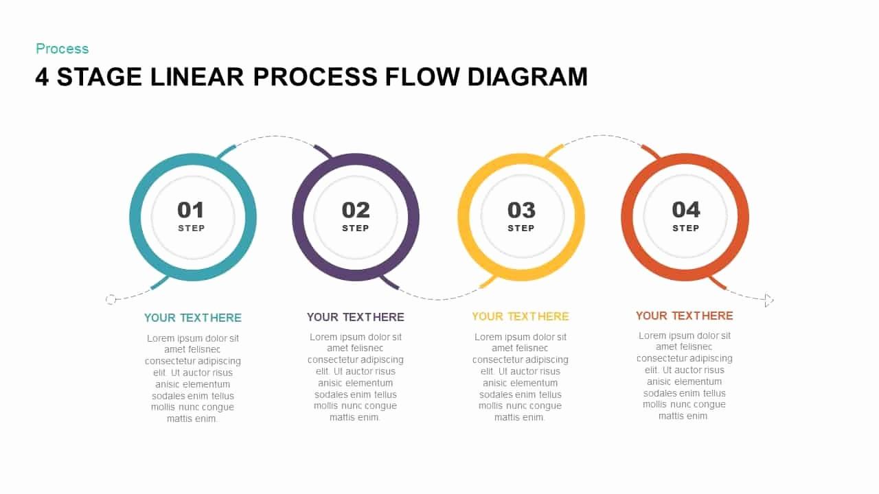 Process Flow Diagram Powerpoint Template Best Of 4 Stage Linear Process Flow Diagram Powerpoint Template