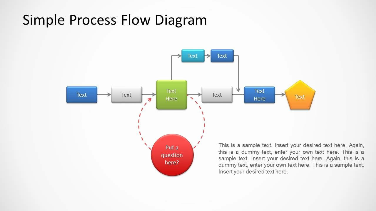 Process Flow Diagram Powerpoint Template Best Of Process Flow Diagram for Powerpoint Slidemodel