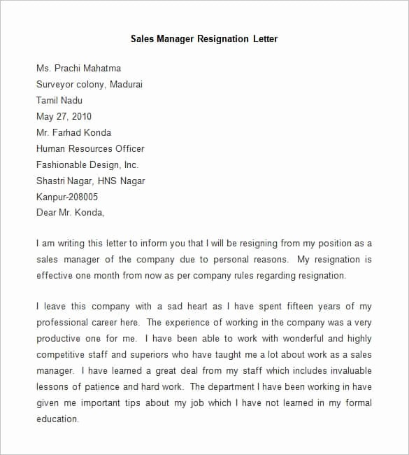 Resignation Letter Templates for Word Elegant 69 Resignation Letter Template Word Pdf Ipages