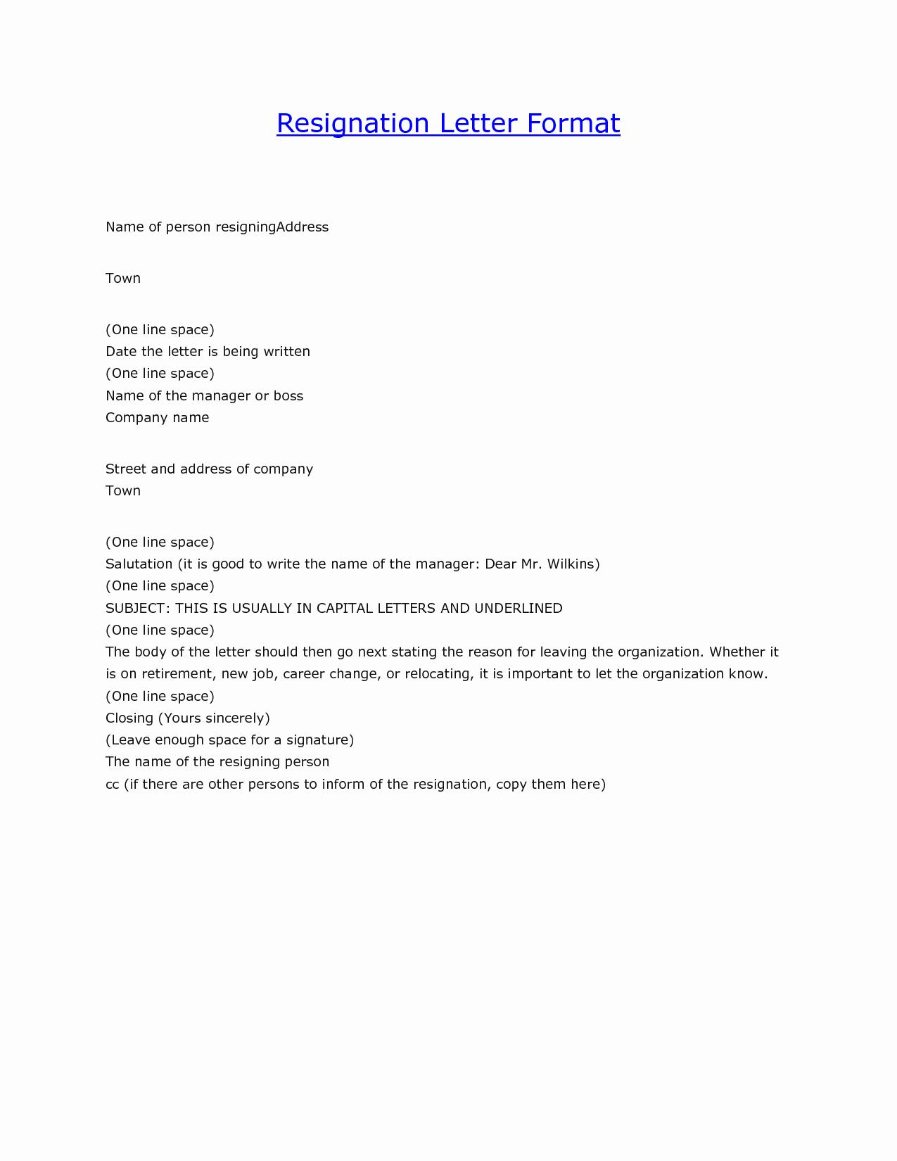 Resignation Letter Templates for Word Lovely Resignation Letter Word Template Bamboodownunder