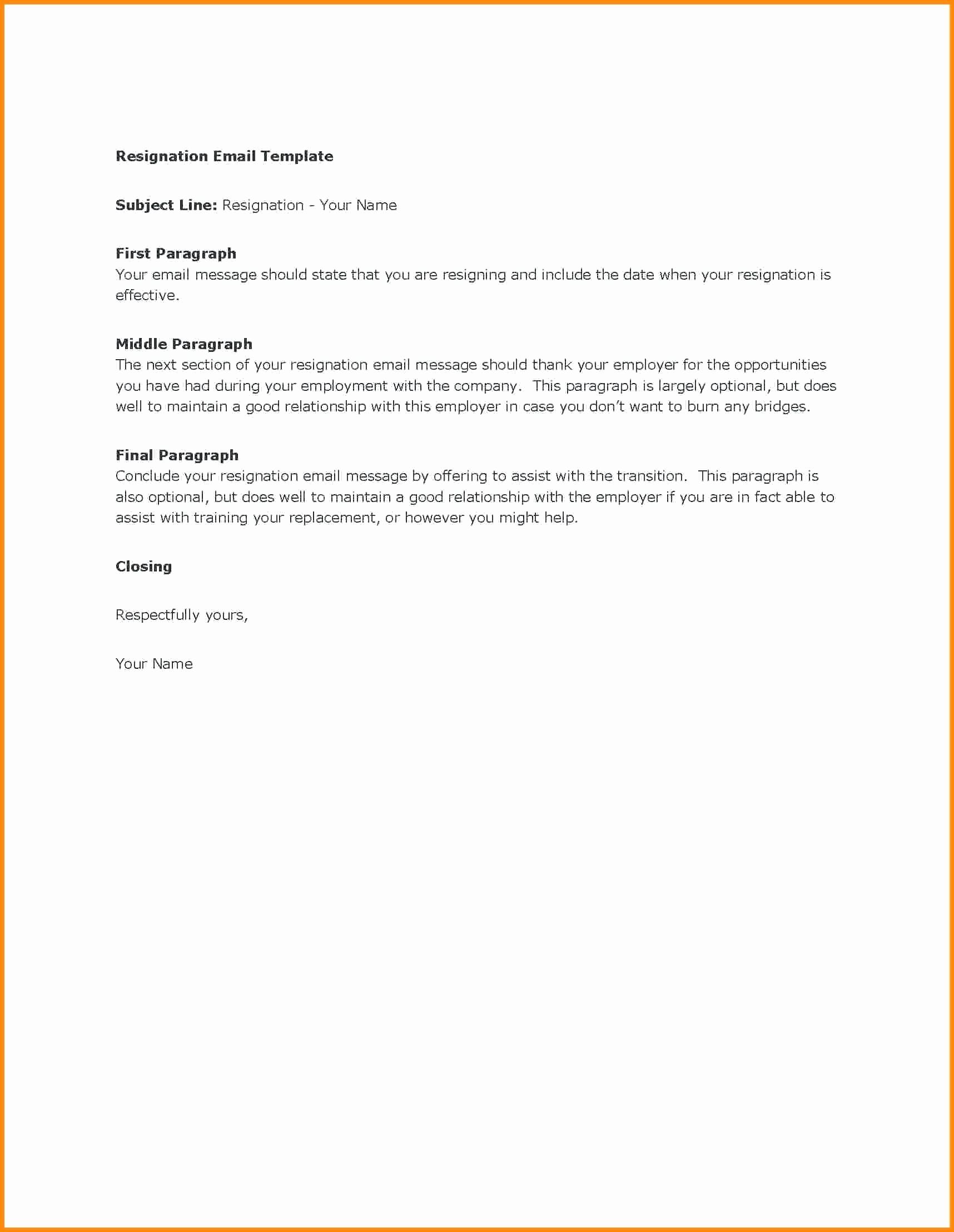 Resignation Letter Templates for Word Lovely Template Resignation Letter Word Template