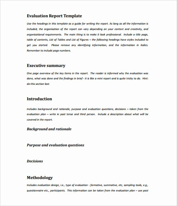 1 Page Executive Summary Example Best Of 31 Executive Summary Templates Free Sample Example
