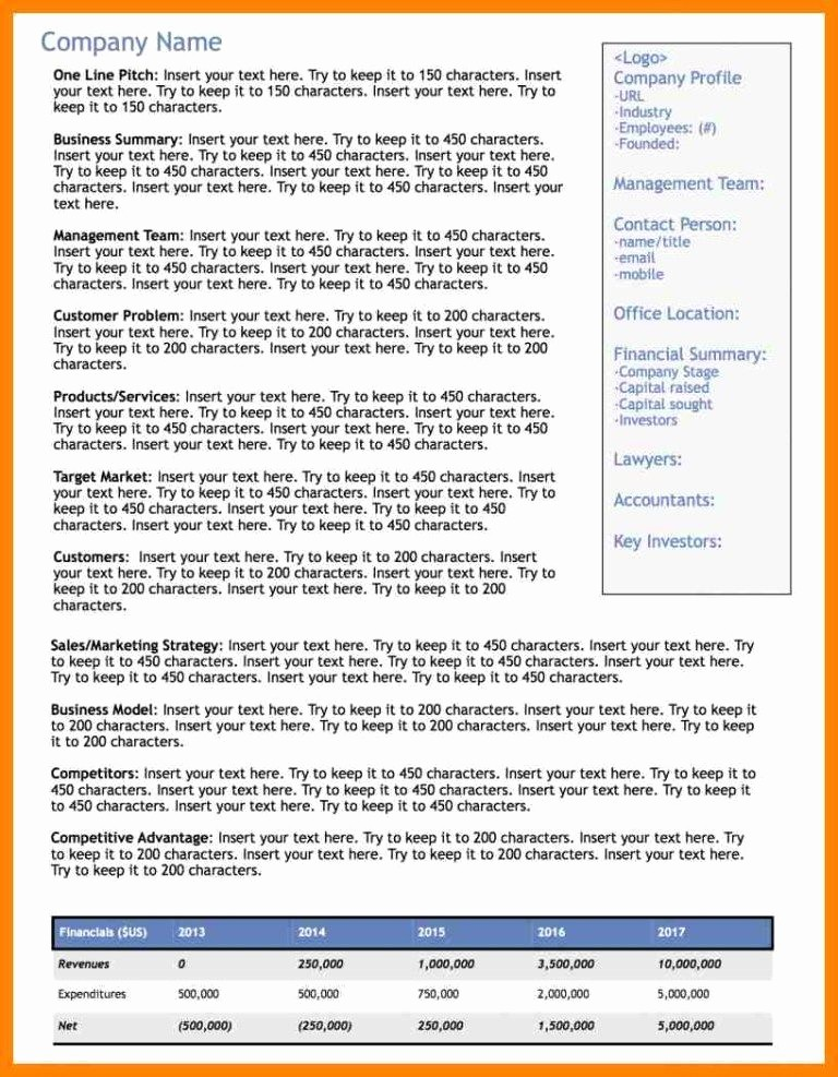 1 Page Executive Summary Example Best Of E Page Executive Summary Sample Biz Docs
