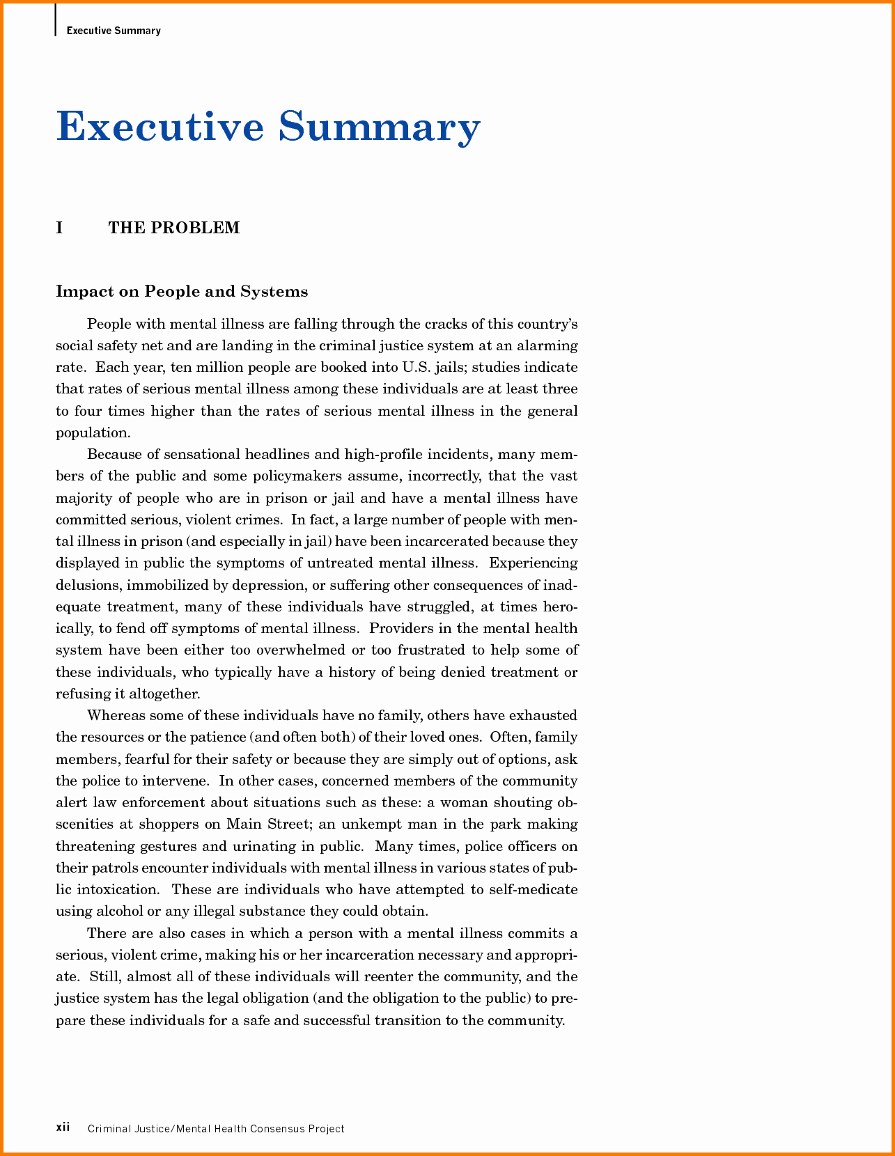 1 Page Executive Summary Template Inspirational 013 E Page Executive Summary Template Ideas Sample