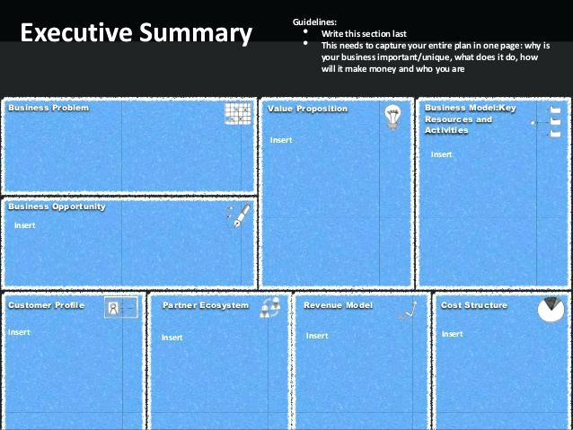 1 Page Executive Summary Template Unique One Page Executive Summary Template – Arabnormafo