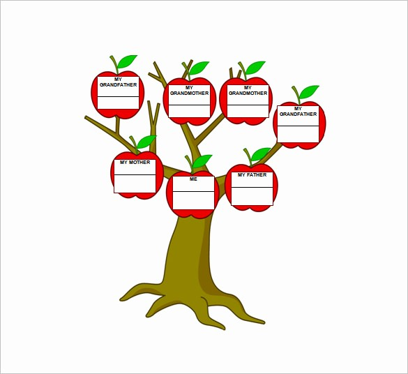 10 Generation Family Tree Template Best Of 3 Generation Family Tree Template – 10 Free Sample