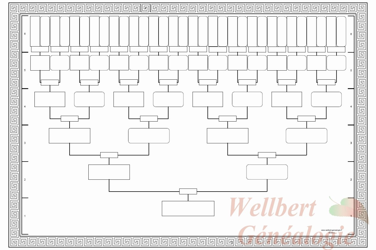 10 Generation Family Tree Template Elegant Template Family Tree Template