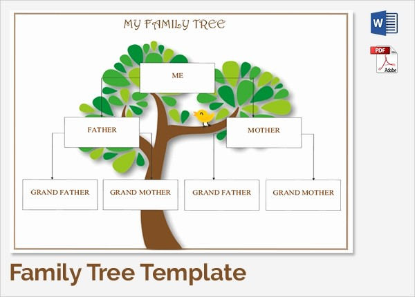 10 Generation Family Tree Template New 18 Sample Family Tree Chart Templates