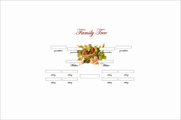 10 Generation Family Tree Template New 3 Generation Family Tree Template – 10 Free Sample