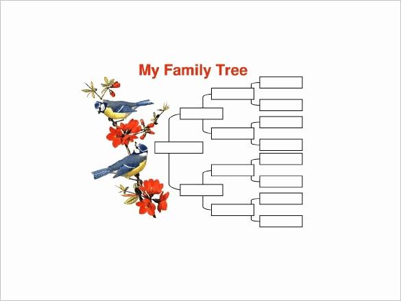 10 Generation Family Tree Template New 4 Generation Family Tree Template Word Invitation Template