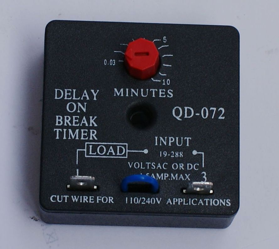 10 Minute Timer with Buzzer Elegant Hvac Timer Qd 072 Delay Break Timer 0 03 10 Minutes