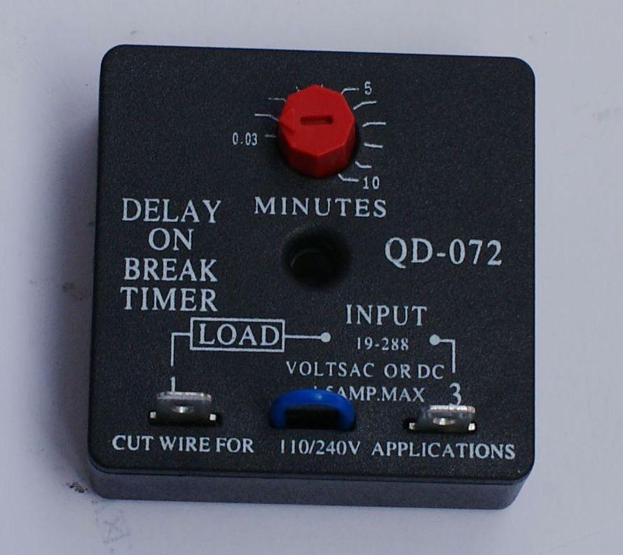 10 Minute Timer with Buzzer Elegant Hvac Timer Qd 072 Delay Break Timer 0 03 10 Minutes