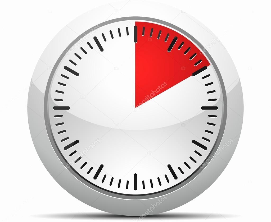 10 Minute Timer with Buzzer New 10 минут таймер — Векторное изображение © Yuriy Vlasenko