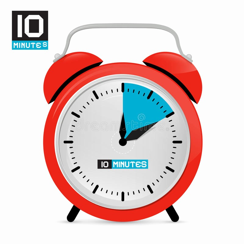 10 Minute Timer with Buzzer New 10 Minute Countdown Timer with Alarm Silent Classroom