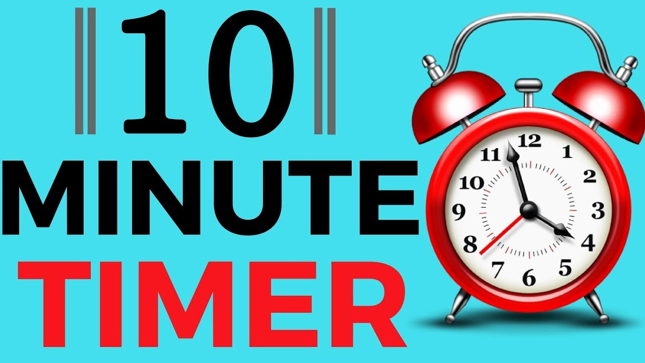 10 Minute Timer with Buzzer New 10 Minute Timer with Alarm