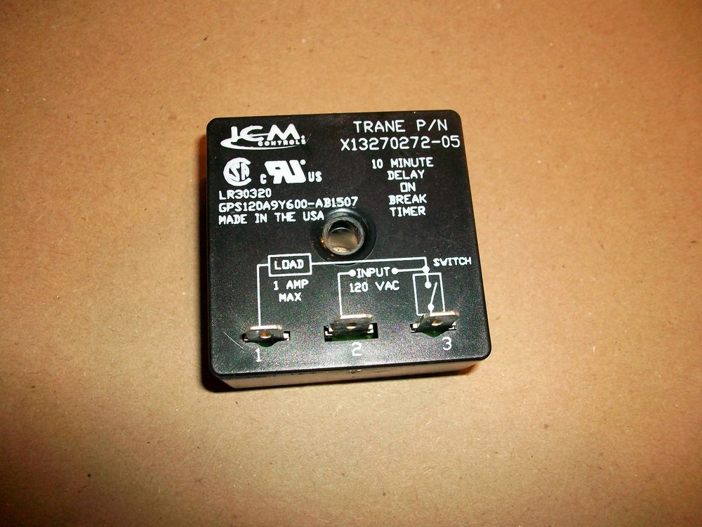 10 Minute Timer with Buzzer New Icm Controls Lr Gps120a9y600 Ab1507 10 Minute Delay