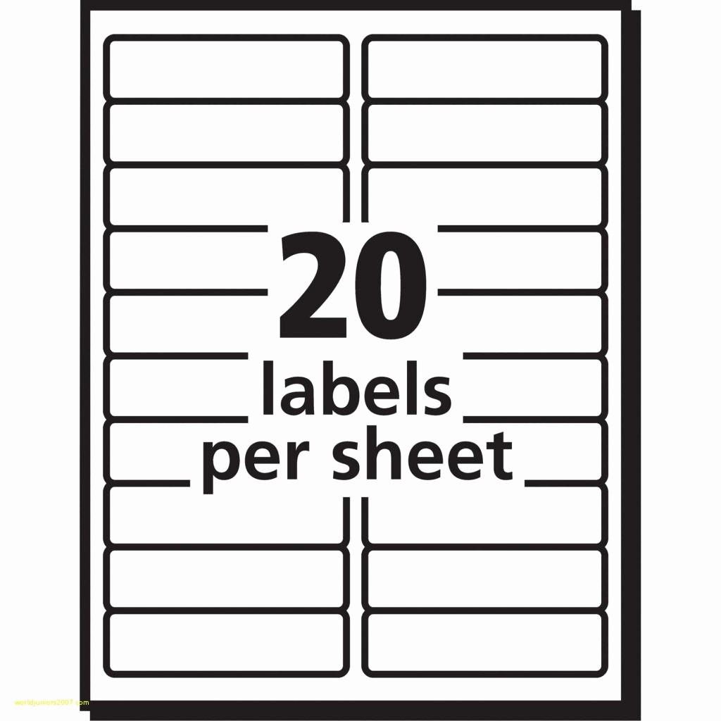 10 Per Sheet Label Template Elegant Sheet Labels Per Template Avery Return Address