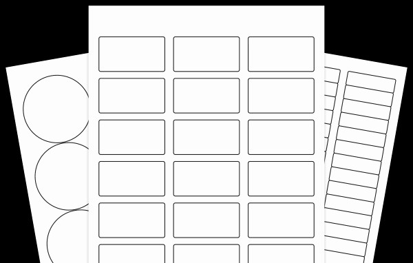 10 Per Sheet Label Template Fresh Blank Decorative Label Templates Templates Resume