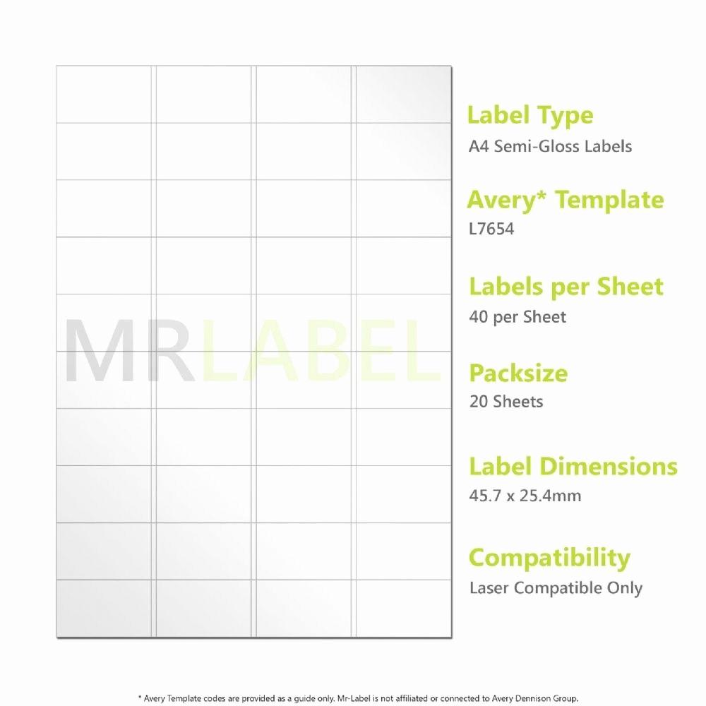 10 Per Sheet Label Template Fresh Label Template 40 Per Sheet