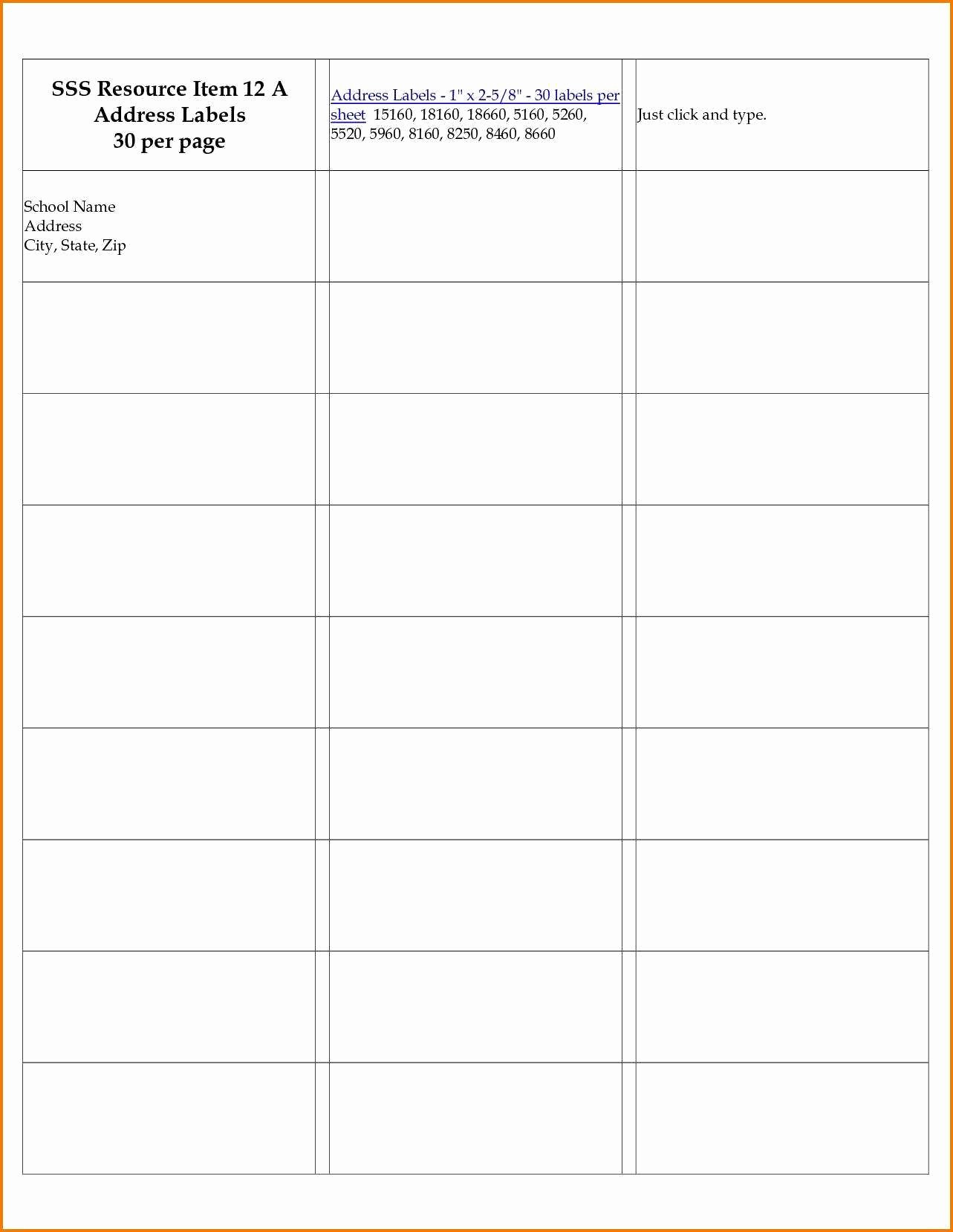 10 Per Sheet Label Template Inspirational 2 X 4 Label Template 10 Per Sheet Excel