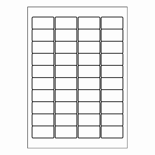 10 Per Sheet Label Template Lovely Label Template 40 Per Sheet