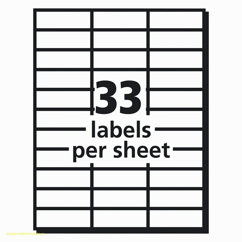 10 Per Sheet Label Template Luxury Avery 30 Labels Per Sheet Template Invoice