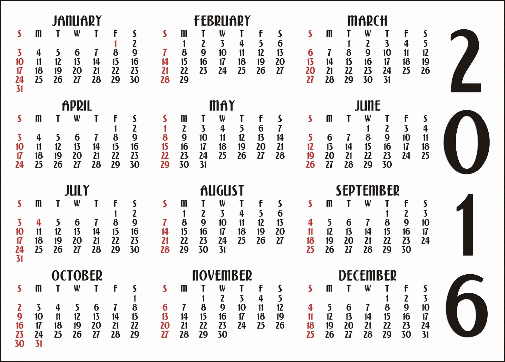 12 Month 2017 Calendar Printable Lovely 12 Months Calendar – Printable Calendar Templates