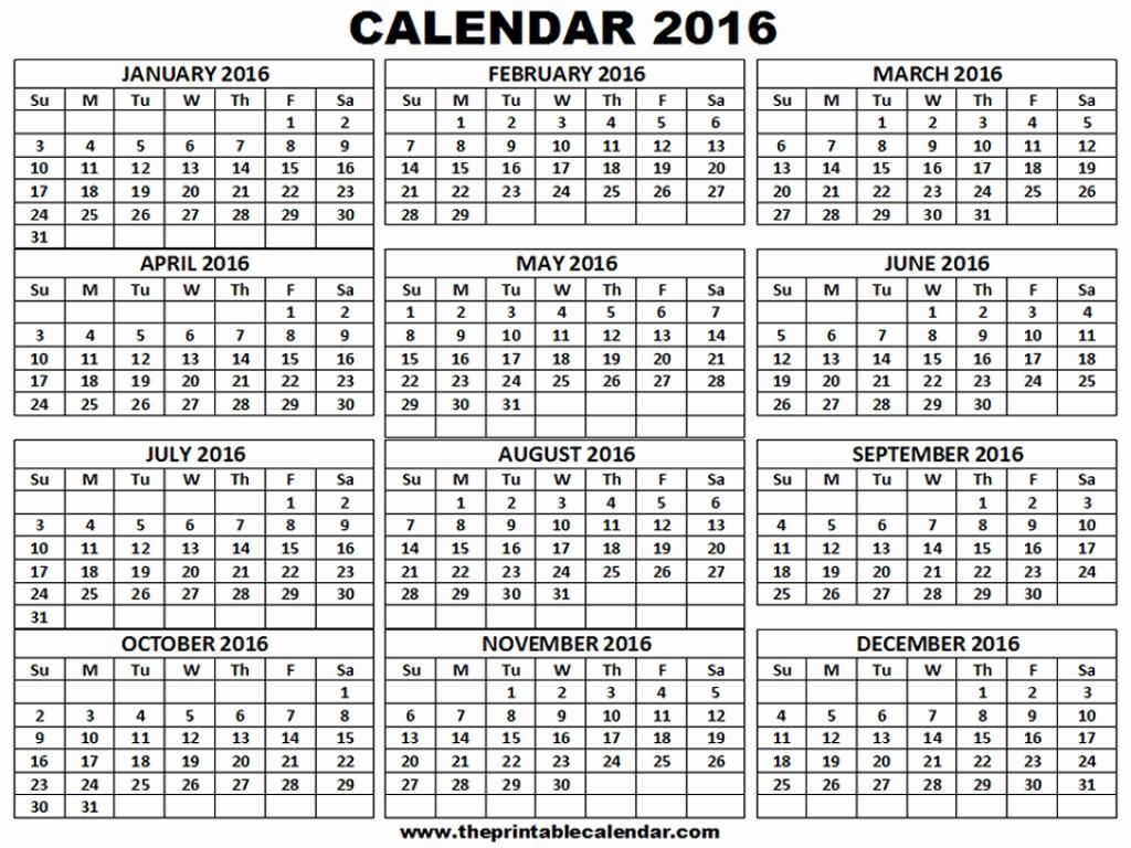 12 Month 2017 Calendar Printable Luxury 12 Month Calendar E Page