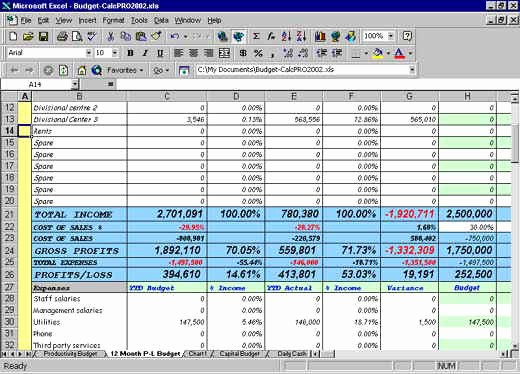 12 Month Budget Plan Template Beautiful Excel Cash Flow Budgeting