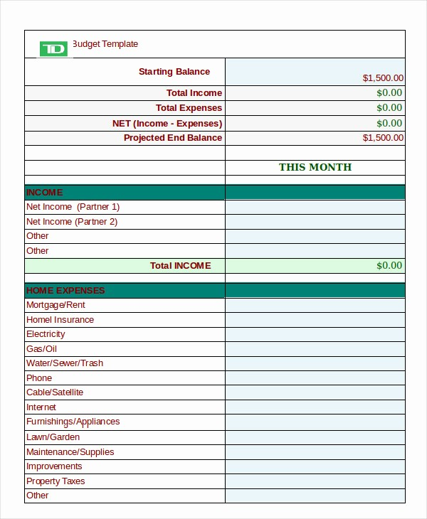12 Month Budget Plan Template Unique 12 Monthly Bud Planner Template Ai Psd Google Docs