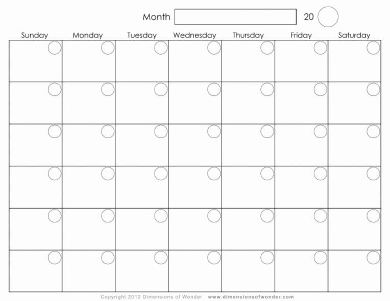 12 Month Calendar 2018 Printable Awesome Blank 12 Month Calendar Printable 2018