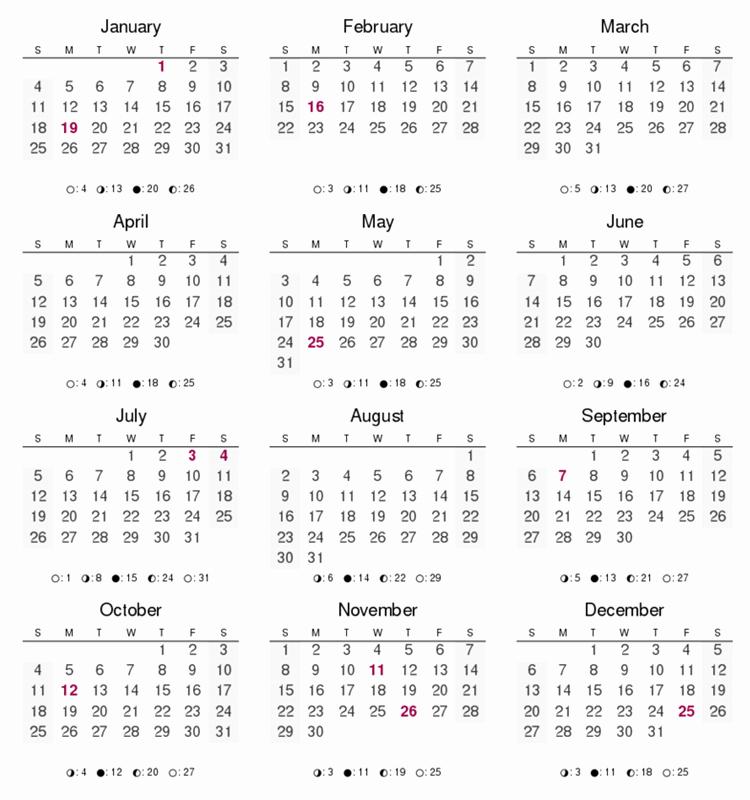 12 Month Calendar for 2016 Luxury Calendar Printable 12 Months